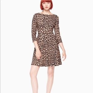 Kate Spade leopard dress size 6